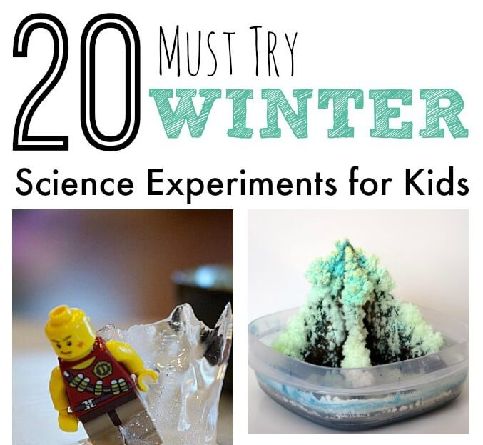 Must Try Winter Science