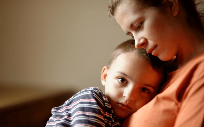 Calm Anxious Child Ecourse Image