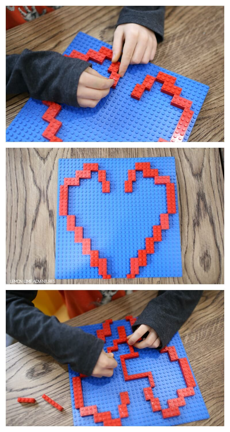 Making a Lego Marble Maze for Kids