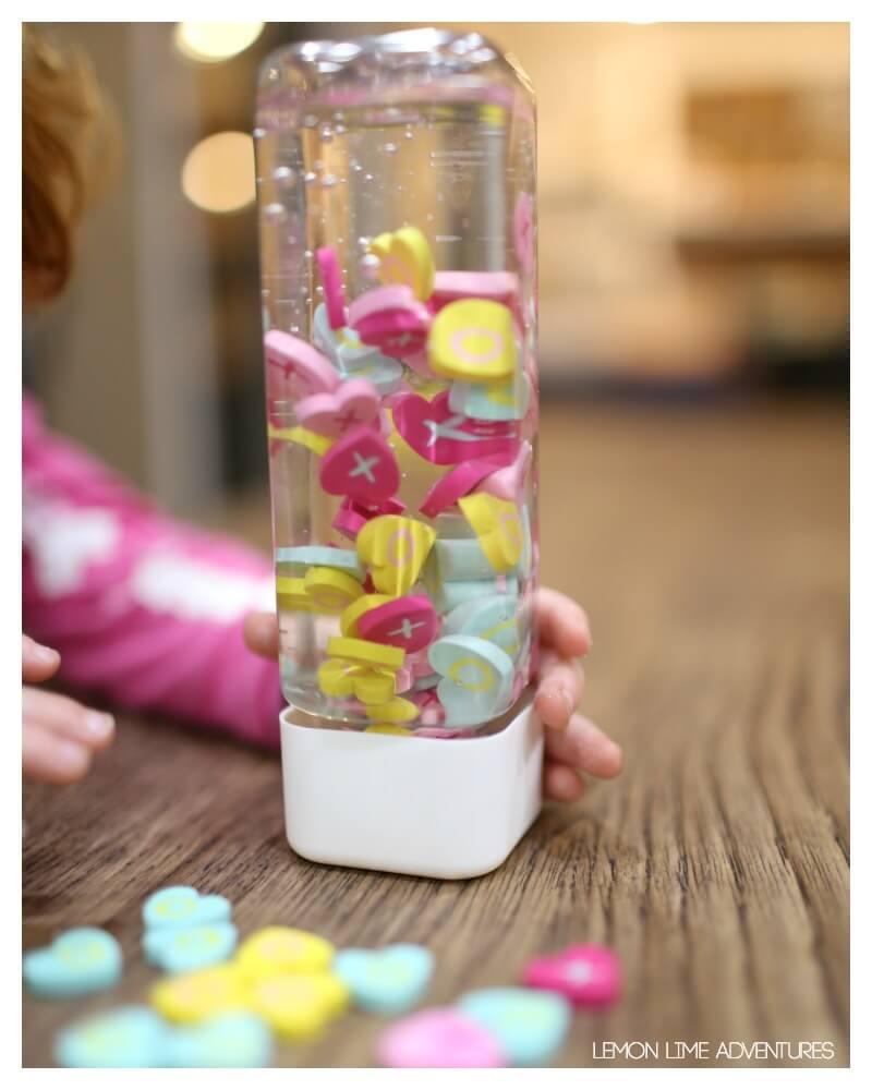 Toddler Suspended Sensory Bottle
