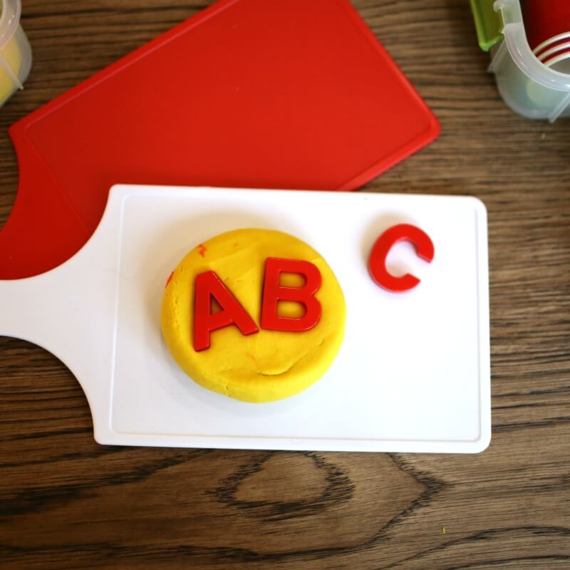 Alphabet Activities with Play Dough Kit