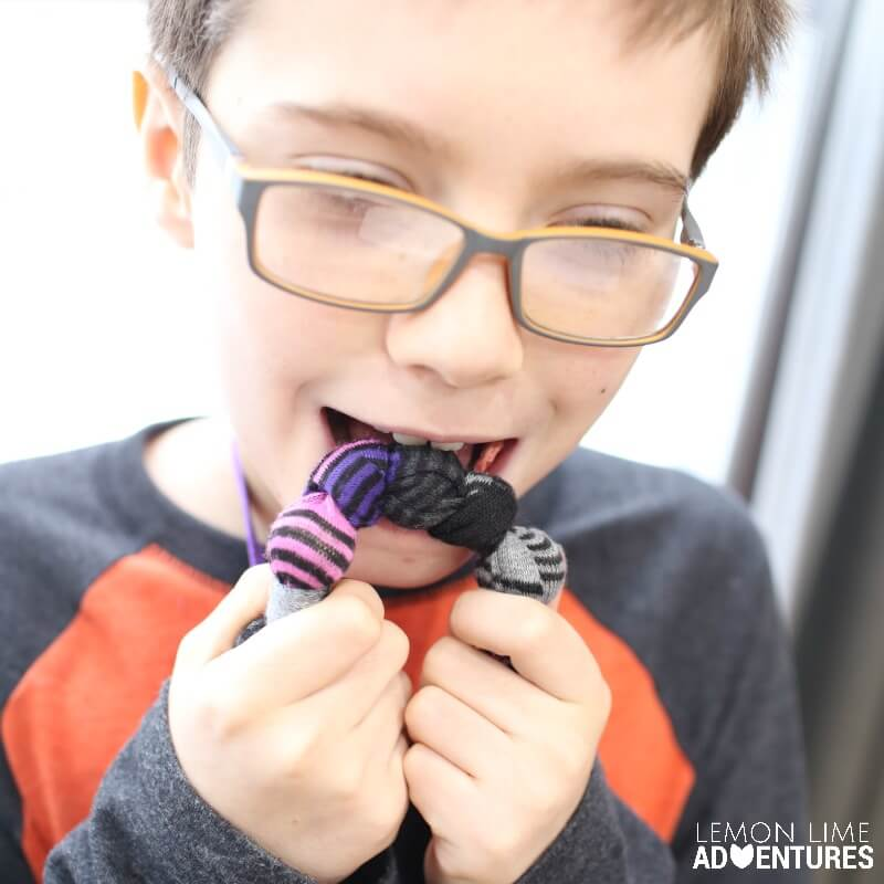 DIY Chewable Jewelry and Teething Necklace for Older Kids