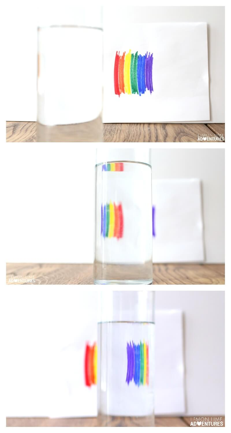 Flipping a Rainbow Simple Science for kids