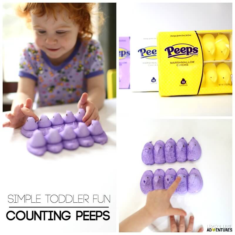 Counting Peeps Simple Toddler Fun