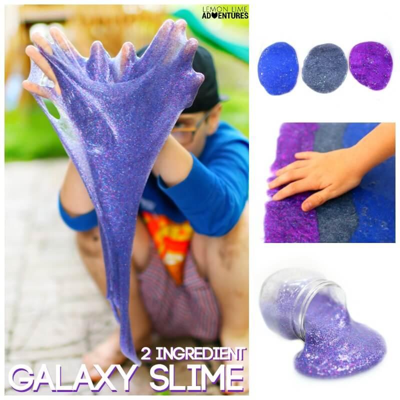 2 Ingredient Galaxy Slime