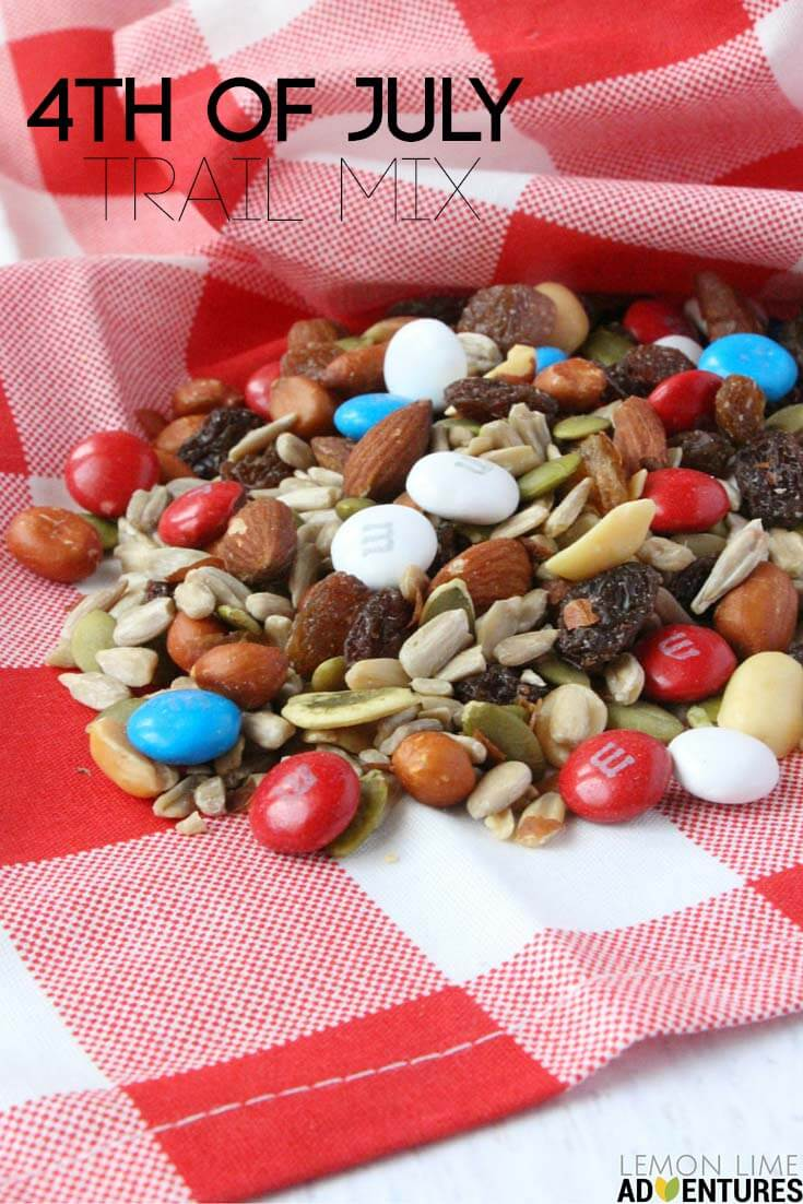july trail mix pin