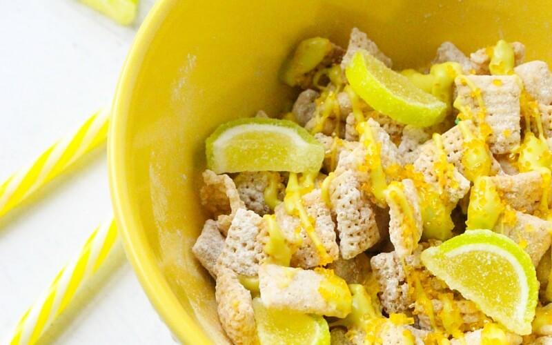 Irresistible Lemon Lime Trail Mix