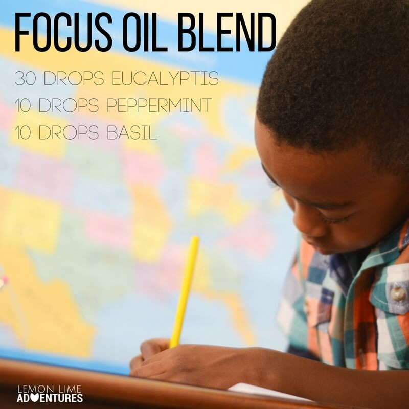 Focus Oil Blend