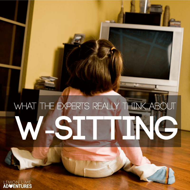 W-Sitting Truths From The Experts