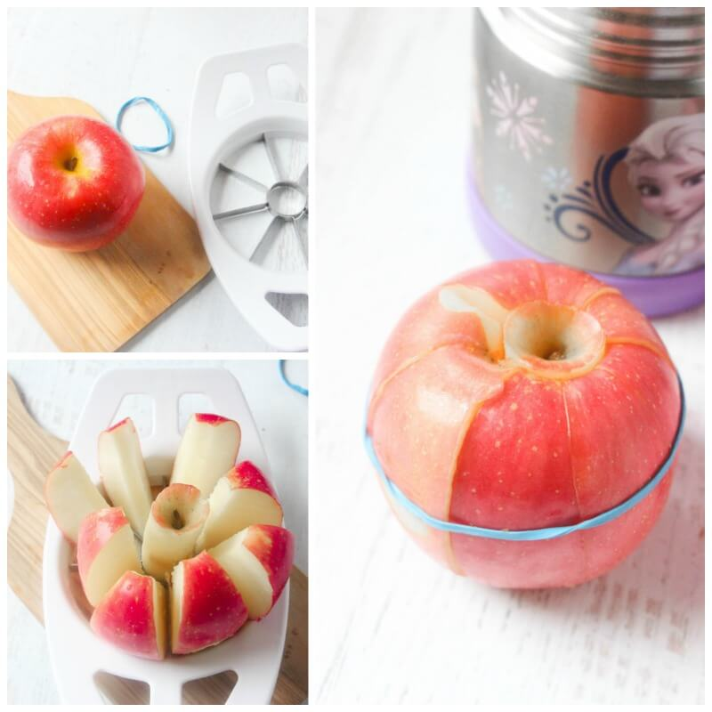 Apple Lunch Hack for Kids