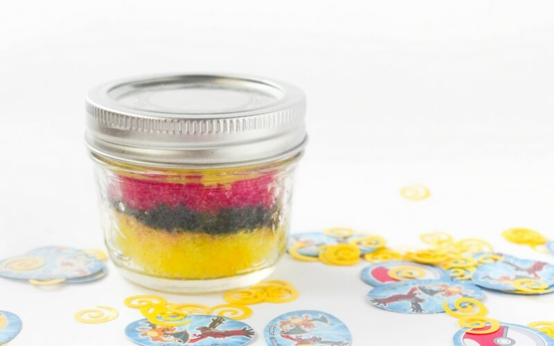 Peppy Pikachu Pokemon Sugar Scrub
