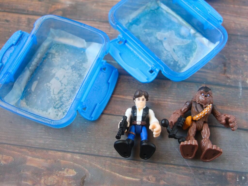 Totally awesome homemade Star Wars soap!