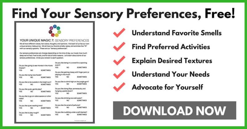Help Your Child Find Sensory Preferences