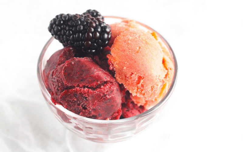 3 Ingredient Fresh & Fruity Sorbet