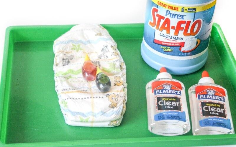 Snot Slime Ingredients!