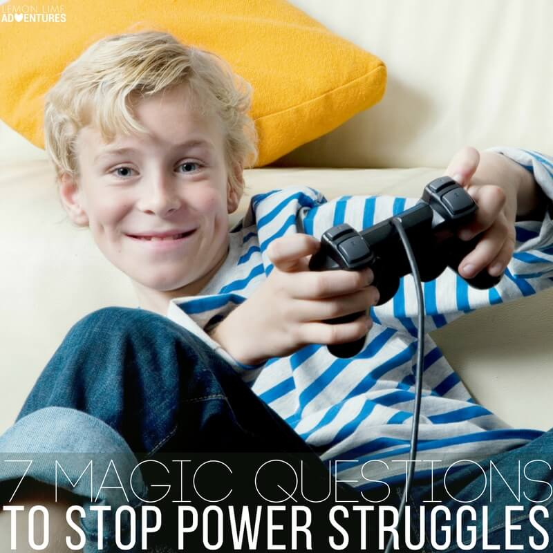 7 Magic Questions to Stop Power Struggles!