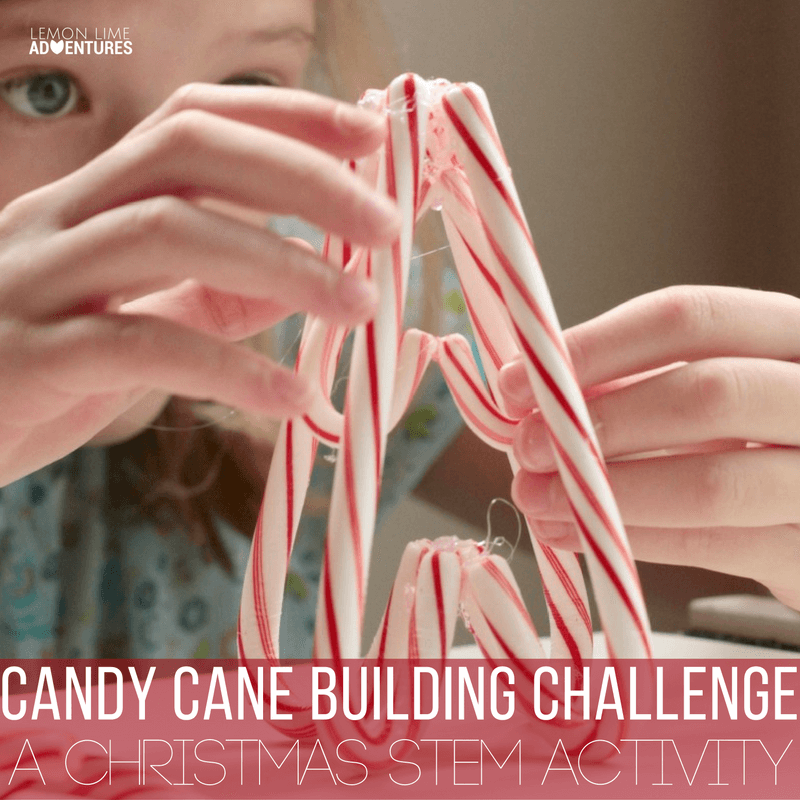 Christmas STEM: Candy Cane STEM Building Challenge
