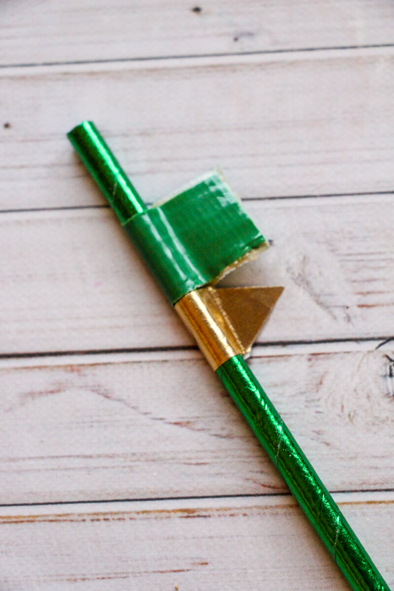 Football Game Day Straws for Kids