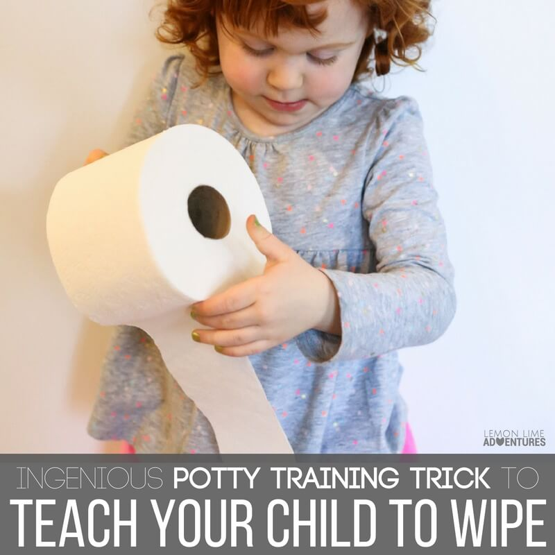 Potty Training Trick to Teach Your Child to Wipe