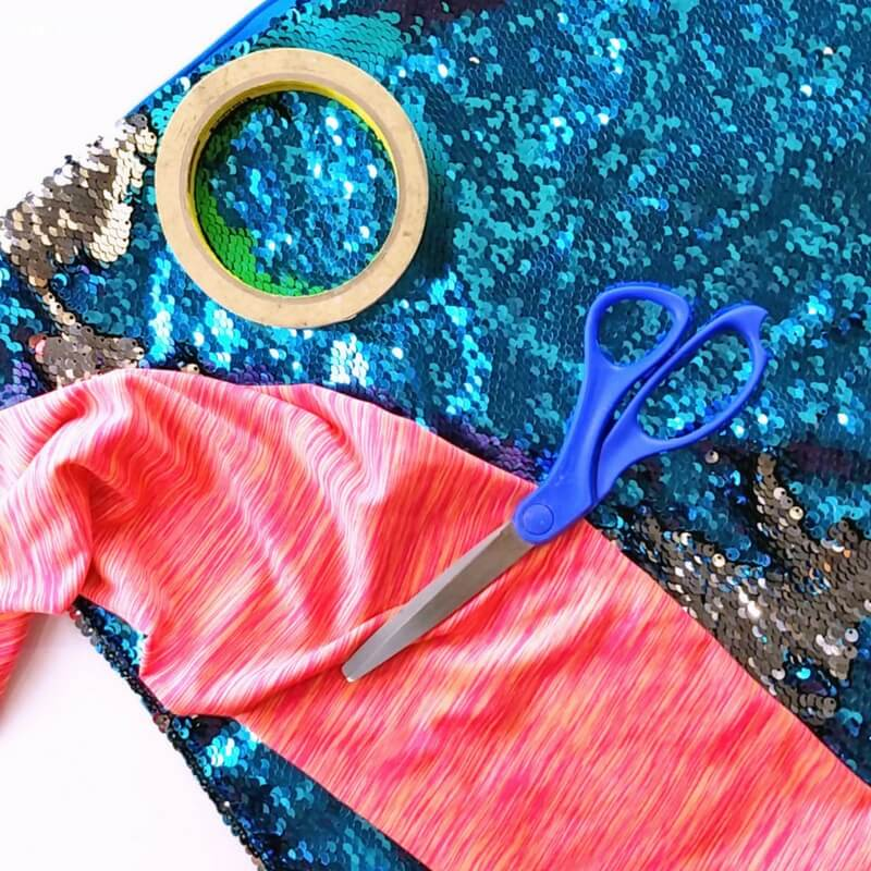 Totally Awesome No-Sew Mermaid Fidget Bag
