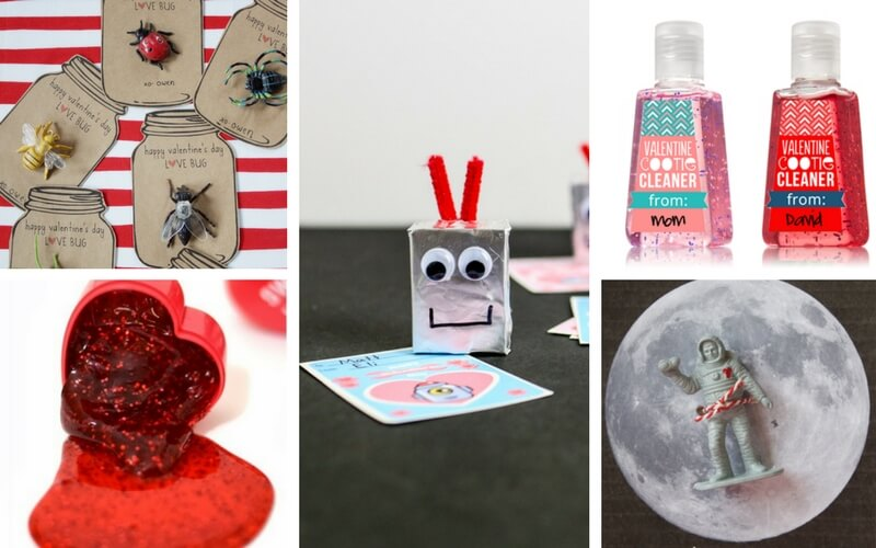 25 Totally Awesome Candy-Free Valentines