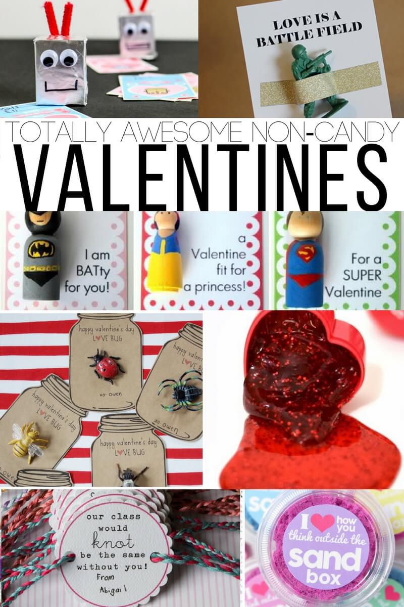 Valentine's Day Non-Candy Printable Valentines