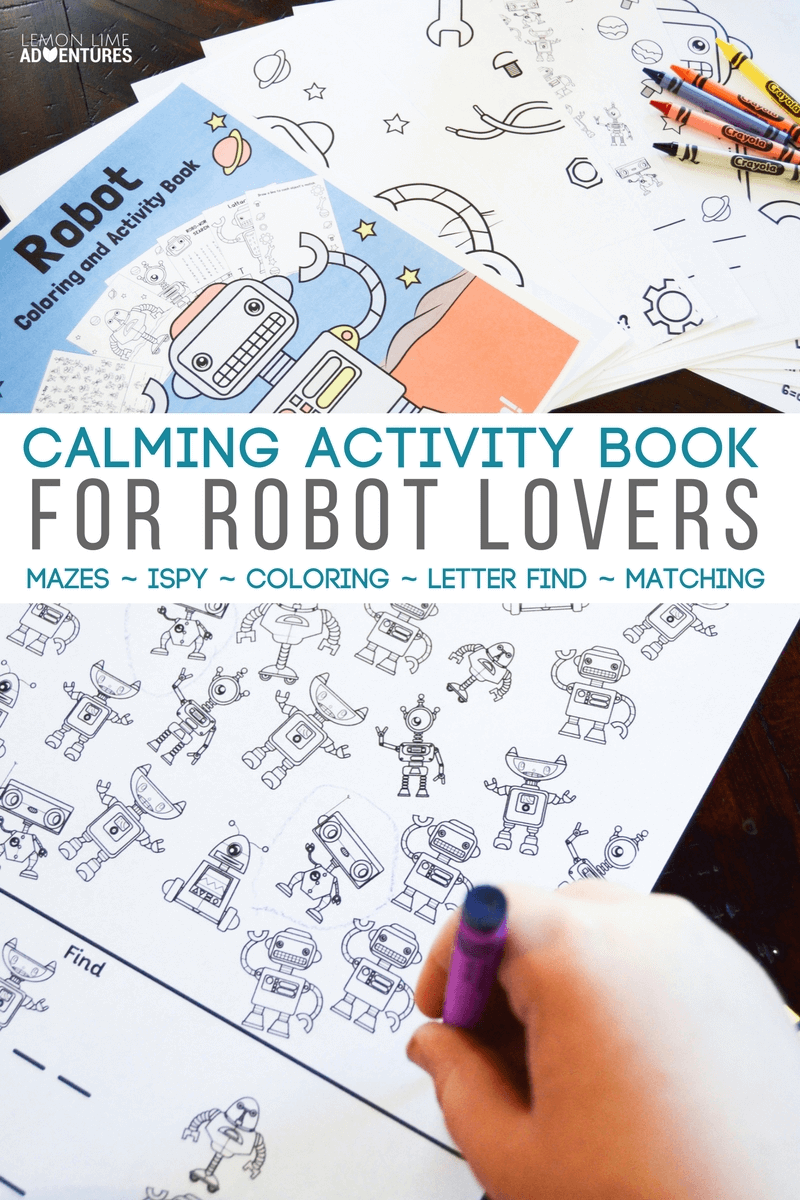 Calming Activity Book for Robot Lovers.png