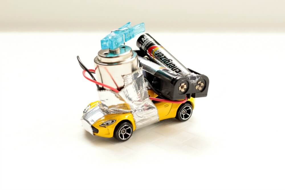 DIY Motorized Toy Car: STEM Challenge for Kids