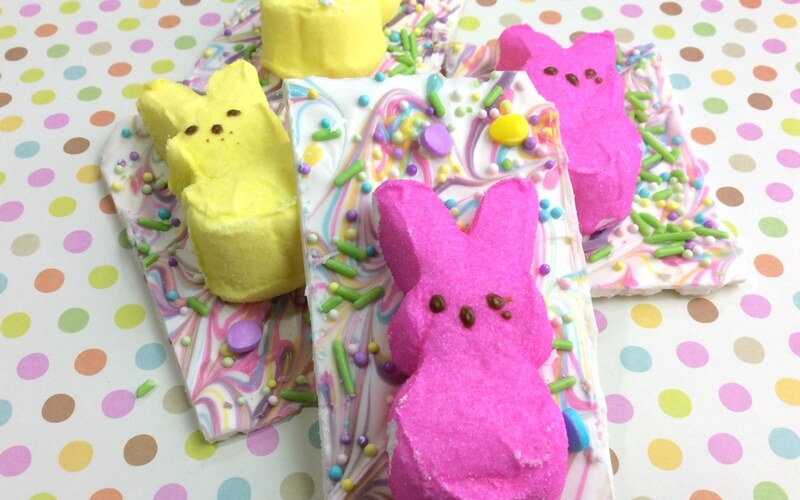 Super Simple and Yummy Peeps Bark