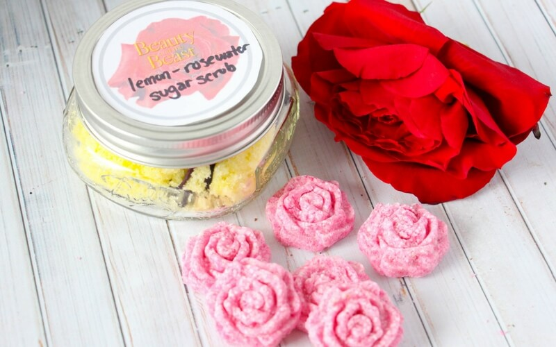 Beauty and the Beast Rose Bath Bombs
