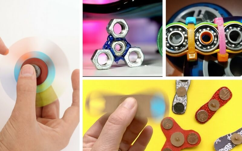 Totally Rad DIY Fidget Spinners That Will Make Your Little Makers Go Nuts
